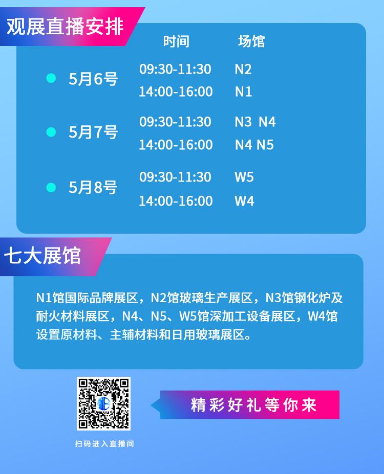玻多多带您云观第31届中国玻璃展!